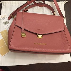 Michael Kors Bristol genuine leather satchel